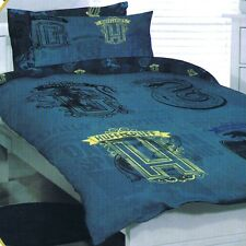 Harry Potter - Hufflepuff - Single/US Twin Bed Quilt Doona Duvet Cover Set