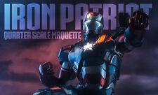 IRON MAN 3~IRON PATRIOT~QUARTER SCALE MAQUETTE~LE 3500~SIDESHOW~MIB