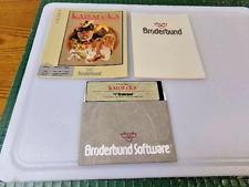 KARATEKA - APPLE II GAME - 1984 BRODERBUND SOFTWARE