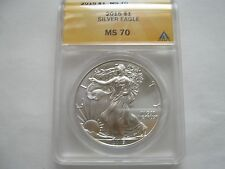 2015 Silver Eagle , MS 70 ,  ANACS Certified , Lot of 5 Coins