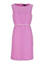 NWT $148 Tahari by Arthur S. Levine Polka Dot Pink Dress    SZ 6   A038