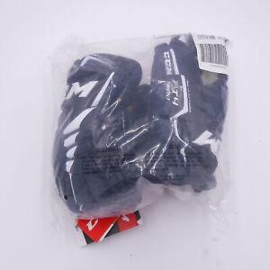"CCM Jetspeed FT4 Pro Hockey Gloves-Junior-Navy/White-12.0"""