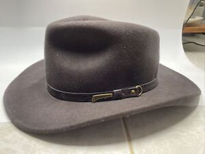 Indiana Jones Brown Wool Outback Headwear Collection Hat