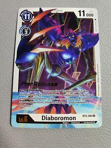 Diaboromon Pre-Release   NM/M   BT5-084 R   Digimon Card Game