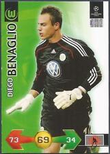 PANINI UEFA CHAMPIONS LEAGUE 2009-10 TRADING CARD-VFL WOLFSBURG-DIEGO BENAGLIO