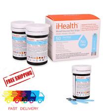 iHealth Blood Glucose Test Strips (50 Count), 2019 Version Blood Sugar Test