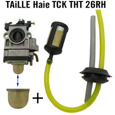 TAILLE HAIE TCK piece RESERVOIR  DURITE tuyau crepine pompet THT26RH THT 25RH