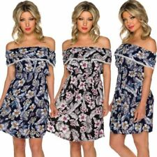 Summer Floral Dresses for Women with Ruffle
