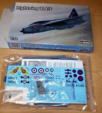 Lightning T4/T5 (2x RAF T4, 2x RAF T5 decals) in 1/72 von Sword