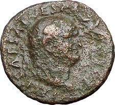VESPASIAN 76AD RARE Rome mint Ancient Roman Coin Justice Equality i47958