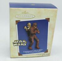 Hallmark Ornament Christmas Chewbacca and 3CPO Star Wars the Empire Strikes Back