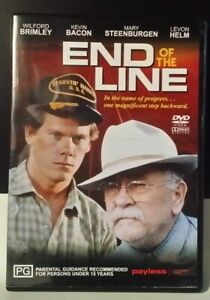 End of the Line RARE OOP DVD Wilford Brimley, Kevin Bacon, Mary Steenburgen