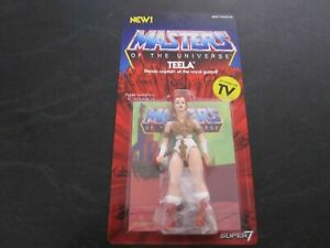 MASTERS OF THE UNIVERSE Super7 Teela 5 1/2 Inch Figure