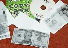 Copy Cash --paper to bill --very clean change --for dollar, euro, pound     TMGS
