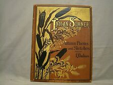 Lida Clarkson. Indian Summer. First Ed 1881 12 Chromolithograph Color Plates.
