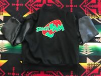 Vtg Original Space Jam 1 Film Crew Issue Jacket Tune Squad Jordan XL Jerry Leigh