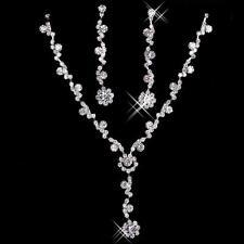 Bride,Wedding, Bridesmaid,Wedding Earrings & Necklace GIFT SET