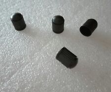 4 valvole Pneumatico universale plastica nera per ruote auto spedizione gratuita