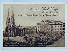 alte AK Wien Dom Hotel Royal Regina 1942 Österreich Austria Brüder Kremslehner
