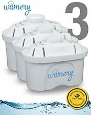 Certified Water Filter Replacement 3Pack. Fits Wamery, Lake Ind, and Mavea Pitch