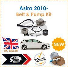 For Vauxhall Astra MK6 J 2.0 CDTi SRi 2010- GATES Timing Belt Kit & Water Pump