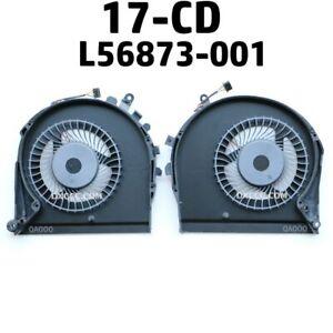 HP 17-CD0010NR 17-CD0020NR 17-CD0024NA 17-CD0095NR CPU & GPU Cooling Fan