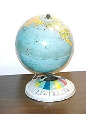 Vintage Magnetic Globe Air Race Game Globe Only