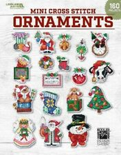 Mini Cross Stitch Ornaments by Leisure Arts 9781464778247 |