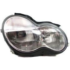 For C32 AMG 02-04, Passenger Side Headlight, Clear Lens