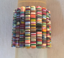 SOBRAL multicolor 2.5 long and 0.5 wide rectangles pop stretchy