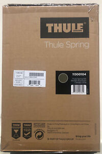 Thule Spring Compact Fold Reclining Seat Single Baby Stroller Aluminum/Olive NEW