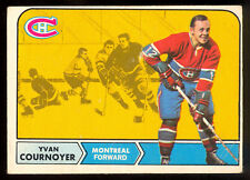 1968-69 OPC O PEE CHEE #62  YVAN COURNOYER VG-EX MONTREAL CANADIENS HOCKEY CARD