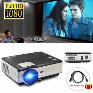 Caiwei 4500lm LED HD 1080P Projektor Heimkino-Theater Video Party HDMI / USB DE