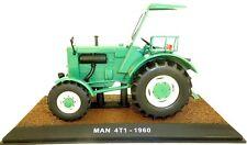 MAN 4T1 1960 VERDE Trattore ATLAS 1:3 2 conf. orig. 012 NUOVO LJ1 µ