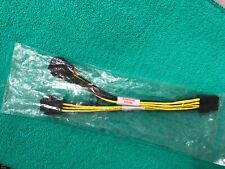 """NVIDIA Dual 6 Pin Female To 8 Pin Male PCIE VGA Cable for NVIDIA K80 ORIGINAL 9"""""""