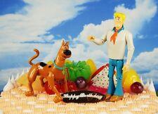 Cake Topper Scooby Doo Fred Jones Figurine Figure Toy Model K1136_A-B