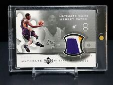 Kobe Bryant 02-03 UD Ultimate Collection Game Used Patch Silver Parallel /25