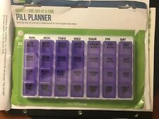 Ezy Dose Weekly One Day At A Time Pill Planner Medium SEALED!