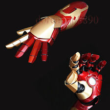 Cool 1:1 Avengers Iron Man MK42 Sound&LED Lighting&Laser Gun Fore Arm Cos Props