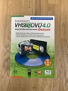 Honestech VHS to DVD 4.0 Deluxe Video Converter Complete