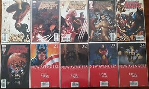 The New Avengers (Lot #3) Ten NM Comics Wolverine Spider-Man Iron Man