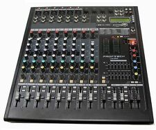 Professional DJ PA 8 CH + 2 CH MP3, 700W POWERED Mixer & Amp USB/SD Card Player