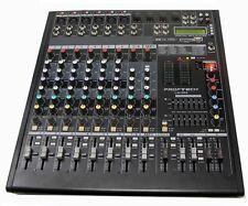 Professional DJ PA 8 CH + 2 CH MP3, 700W POWERED Mixer & Amp USB/SD Card Player