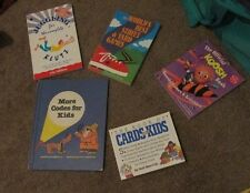 Lot of 5 Fun Activities Books for Kids (Koosh, cards, juggling , street games +