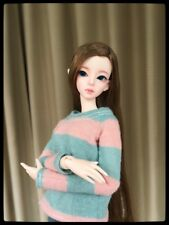 1/6 bjd doll Verna cute girl free eyes+face make up resin figure_ human body