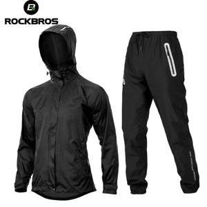 Cycling Jacket Sets Bike Raincoat Reflective Outdoor Rainproof Jersey Pant Suits
