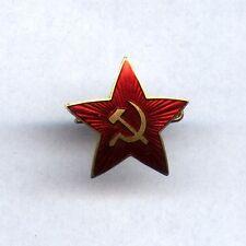 VERY RARE Russian Soviet USSR WW2 small Visor Hat badge STAR RKKA 1940