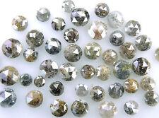 Natural Loose Diamonds Rose Cut Brown Mix Color 4.00 to 5.00 MM 1.00 Ct Lot J14