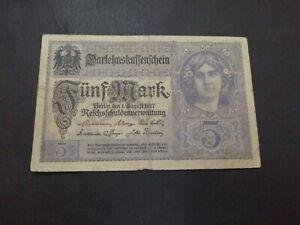 Germany 5 Mark 1917