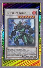Guerrier Nitro TDGS-FR039 Feu Guerrier Synchro Effet Niveau 7 YGO
